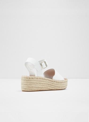 Aldo Abearith - Beyaz Dolgu Kadin Sandalet Beyaz